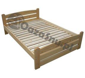 łóżka Sosnowe 100x200 łóżka Drewniane Nar Wymia Oazasnupl